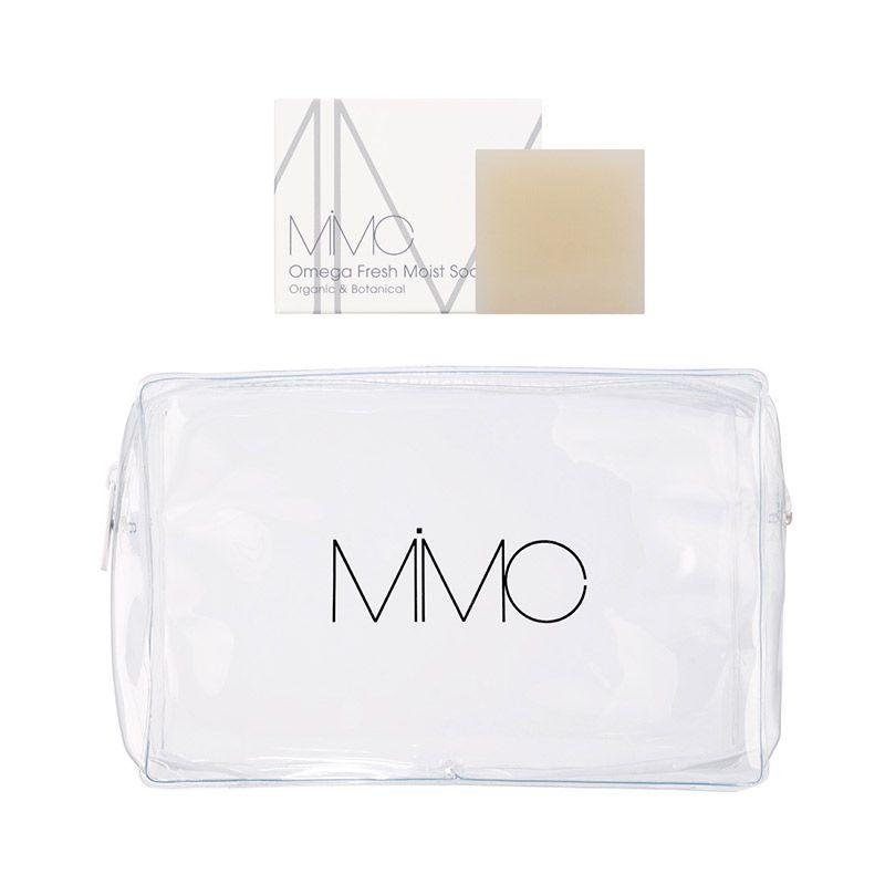 MiMCの商品を7,500円以上購入でオリジナルポーチとオメガソープをプレゼント
