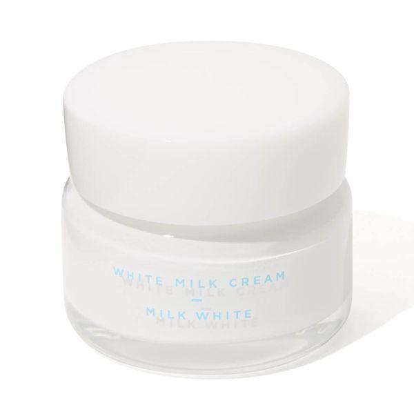 保湿クリームと化粧下地がこれひとつに! モウシロ『トーンアップクリーム ミルクホワイト』の使用感をレポに関する画像4