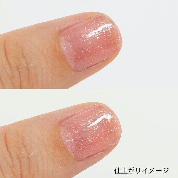 速乾で塗りやすいCANMAKE(キャンメイク)『カラフルネイルズ NTC トップコート』をご紹介に関する画像7