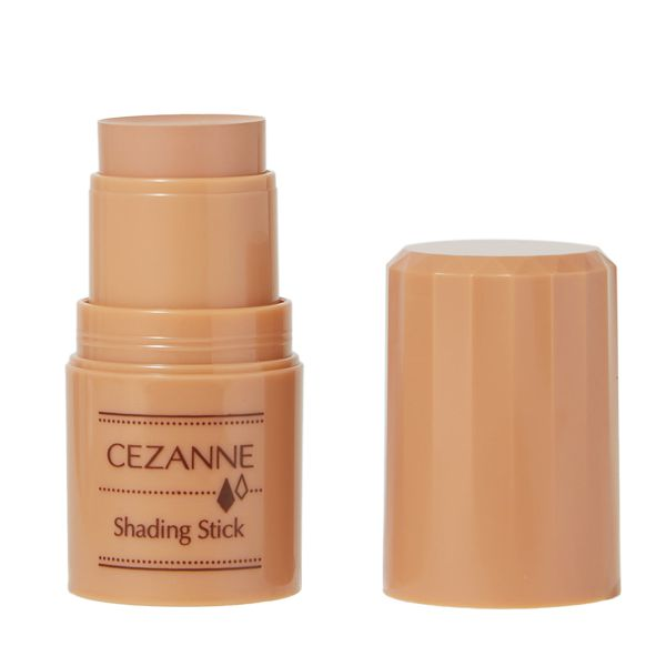 CEZANNE(セザンヌ)『シェーディングスティック 02 ベージュブラウン』の使用感をレポに関する画像1