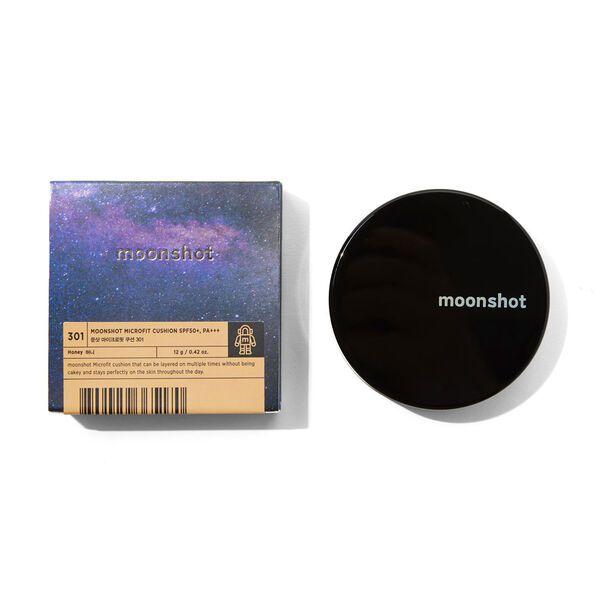 細かい粒子が高密着moonshot(ムーンショット)『マイクロフィットクッション 301 SPF50+ PA+++』をご紹介に関する画像4