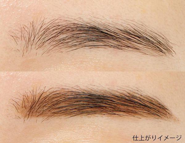 立体的な美眉を1日中キープできる! Kパレット『ラスティングツーウェイアイブロウ リキッドWP 01 ライトブラウン』をレポに関する画像12