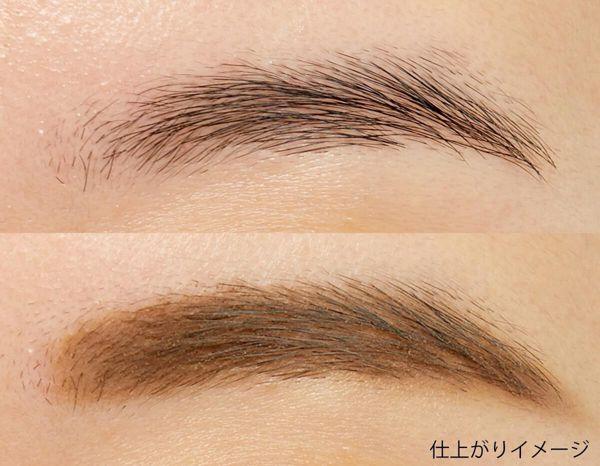 立体眉毛を1日キープ! K-パレット『ラスティングツーウェイアイブロウ リキッドWP 04 グレイッシュブラウン』をご紹介します。に関する画像10