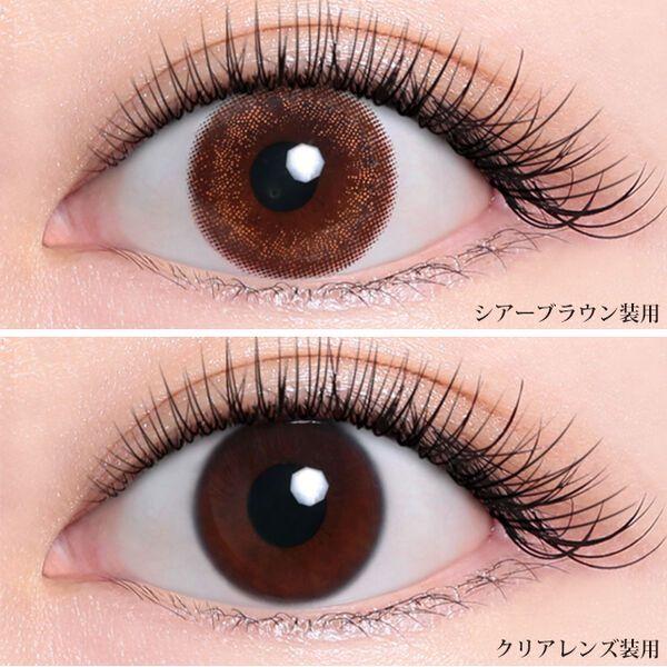 ナチュラルに華やかな瞳を演出! Tiary eyes(ティアリーアイズ)『ティアリーアイズ シアーブラウン』をレポに関する画像6