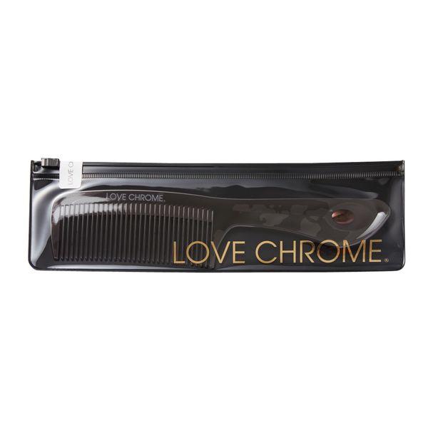 髪をやさしくとかし、サラサラにしてくれるコーム!LOVE CHROME(ラブクロム)『PG テツキ プレミアムブラック』をご紹介に関する画像4