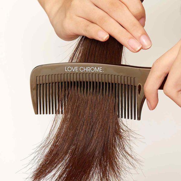 髪をやさしくとかし、サラサラにしてくれるコーム!LOVE CHROME(ラブクロム)『PG テツキ プレミアムブラック』をご紹介に関する画像12