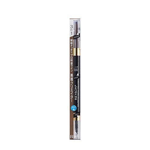 なめらかなラインが描きやすいレブロン『カラーステイ ブロウ クリエイター 635 ミディアム ブラウン ペンシル + パウダー』をご紹介に関する画像1