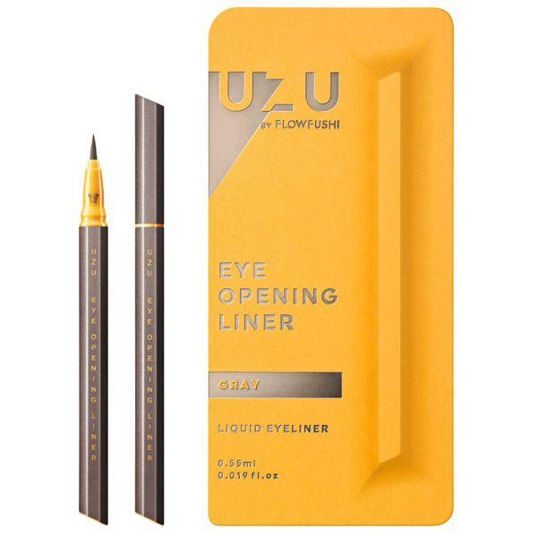 定番カラーから珍しいカラーまで揃ってる UZU BY FLOWFUSHI(ウズバイフローフシ)『アイオープニングライナー グレー』の使用感レポ!に関する画像1