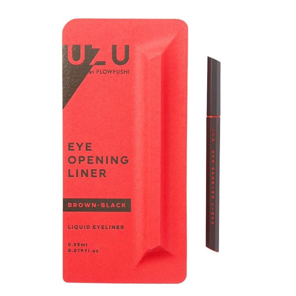 定番カラーから珍しいカラーまで揃ってる UZU BY FLOWFUSHI(ウズバイフローフシ)『アイオープニングライナー ブラウンブラック』の使用感レポ!に関する画像4