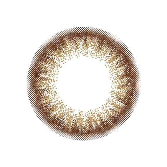 オリーブの隠しカラーで輝くフチ盛りブラウンのRe coco(リココ)『リココ ワンデー ルーセントリーフ』をレポ!に関する画像12