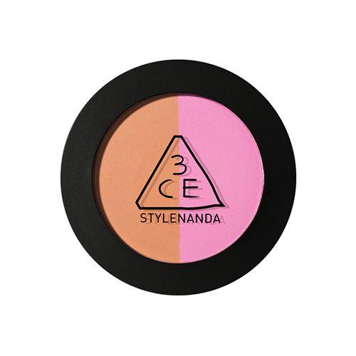 オレンジとピンクの2色を一気に楽しめる3CE(スリーシーイー)『デュオ カラー フェイス ブラッシュ MISS FLOWER』をご紹介に関する画像1