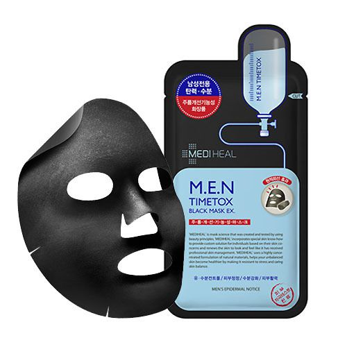 MEDIHEAL(メディヒール)『M.E.N タイムトックス ブラック マスク EX』の使用感をレポ!に関する画像1