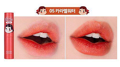 韓国コスメHOLIKAHOLIKA(ホリカホリカ)抜群の色持ちとしっとり保湿を同時に叶えるバームタイプのペコちゃんティント05カラメルに関する画像7