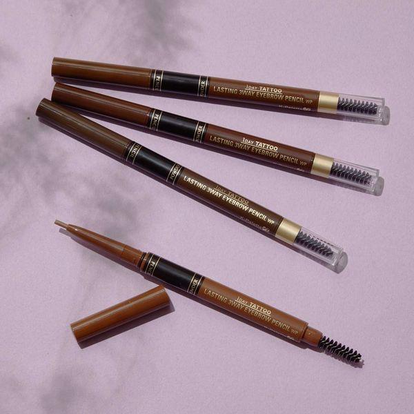 Kパレット『ラスティングスリーウェイアイブロウペンシル 02 ナチュラルブラウン』の使用感をレポに関する画像4