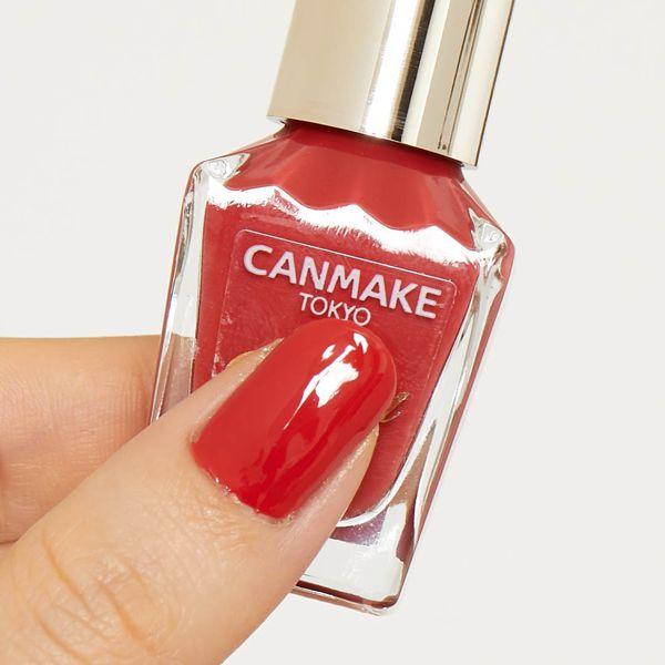 CANMAKE(キャンメイク)『カラフルネイルズ N35 アーバンルージュ』の使用感をレポに関する画像4