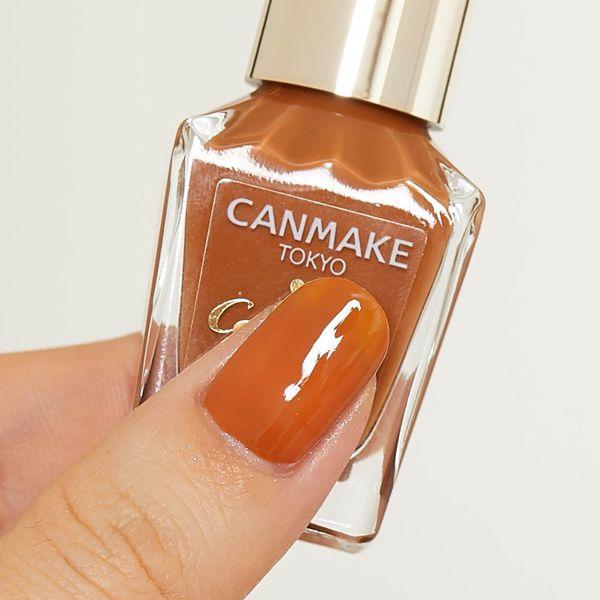 CANMAKE(キャンメイク)『カラフルネイルズ N36 ビターキャラメル』の使用感をレポに関する画像4