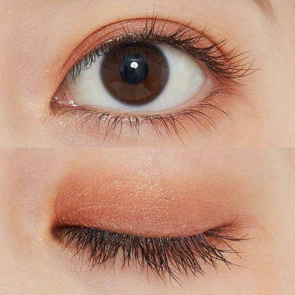 CEZANNE(セザンヌ)『シングルカラーアイシャドウ 06 オレンジブラウン』の使用感をレポ!に関する画像10