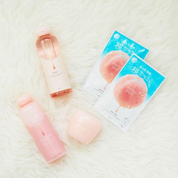 たっぷり潤う桃セラミド配合の保湿化粧水でぷりぷり素肌へに関する画像4