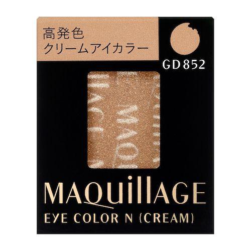 MAQuillAGE(マキアージュ)『アイカラー N (クリーム) GD852 グリッター』の使用感をレポ!に関する画像1
