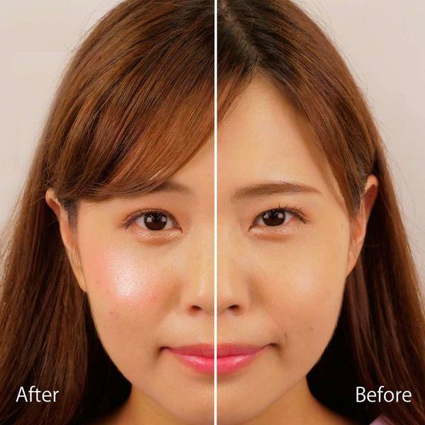 Makeup Revolution(メイクアップレボリューション)ハートハイライターエンジェルハート ハイライターやアイシャドウやチーク...使い方は無限大!5色が詰まった万能ハイライターに関する画像7