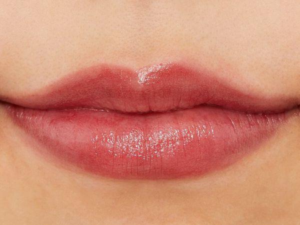 人気のちふれ『口紅 555 レッド系パール』の使用感をレポ!に関する画像7
