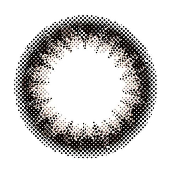 ナチュラルに瞳を大きくみせるenvie(アンヴィ)『アンヴィUV ワンデー プラムブラック』のご紹介に関する画像1