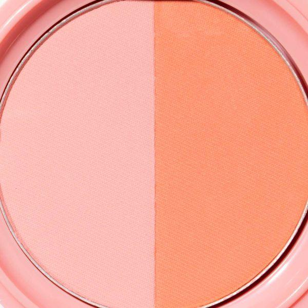 ツートンカラーのキュートなチーク♡ベビーピンク&オレンジででヘルシーな印象にしよう!に関する画像6