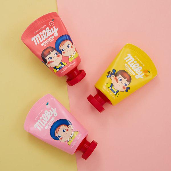 パケ買い必須!ピンクの「ペコちゃんハンドクリーム」はピーチの香りに関する画像1