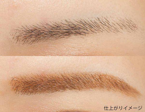 超スリムブラシで眉毛をカラーリング! スキニーメスブロウマスカラの#01 ライトブラウンをご紹介に関する画像13