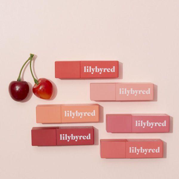 果実の潤いを唇にプラス♡ lilybyred(リリーバイレッド)から登場した、『#06 成熟したチェリーのふり』をご紹介に関する画像1