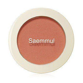 細かい粒子でお肌に馴染むthe SAEM(ザセム)『センムル シングルブラッシャー OR01 マンダリンキス』をご紹介に関する画像1