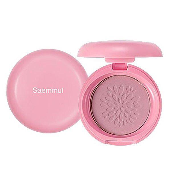 頬をふんわり染め上げるthe SAEM(ザ セム)『センムル スマイルベベ ブラッシャー 01 ローズピンク』をご紹介に関する画像1