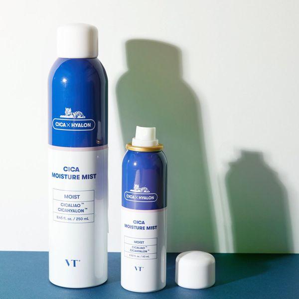 夜の疲れた肌を癒してくれる水分ミスト VT cosmetics『シカ水分ミスト』をご紹介に関する画像1