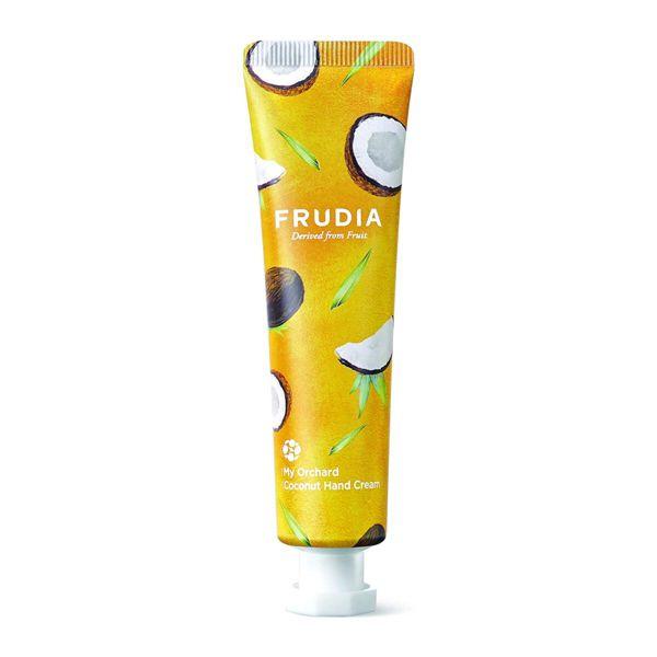 甘い香りが際立つFRUDIA(フルディア)『マイオーチャードハンドクリーム ココナッツ』をご紹介に関する画像1