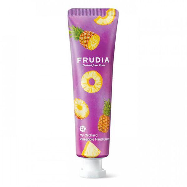パイナップルがフルーティーに香るFRUDIA(フルディア)『マイオーチャードハンドクリーム パイナップル』をレポ!に関する画像1