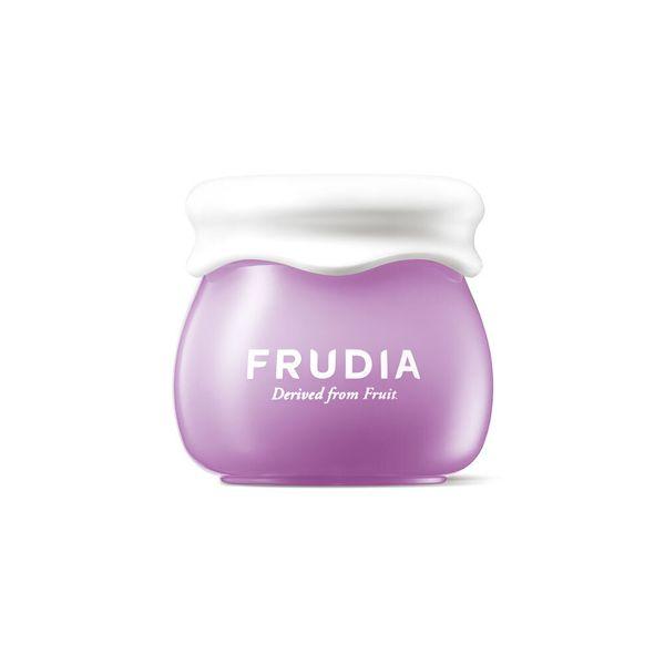 コロンとした容器がキュートなFRUDIA(フルディア)『ブルーベリーハイドレイティングクリーム ミニ』のご紹介に関する画像1