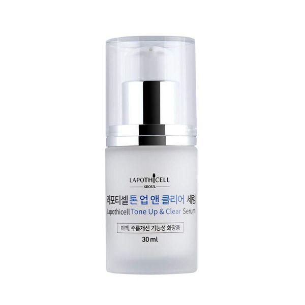 美容大国、韓国のコスメメーカーLapothicell(ラポティセル)の美容液『トーンアップ&クリアセラム』をご紹介に関する画像1
