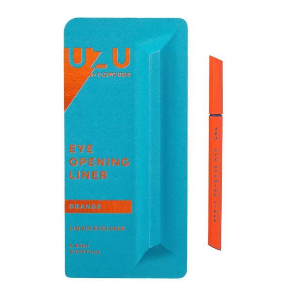 カラバリ豊富な UZU BY FLOWFUSHI(ウズバイフローフシ)『アイオープニングライナー オレンジ』の使用感レポ!に関する画像4