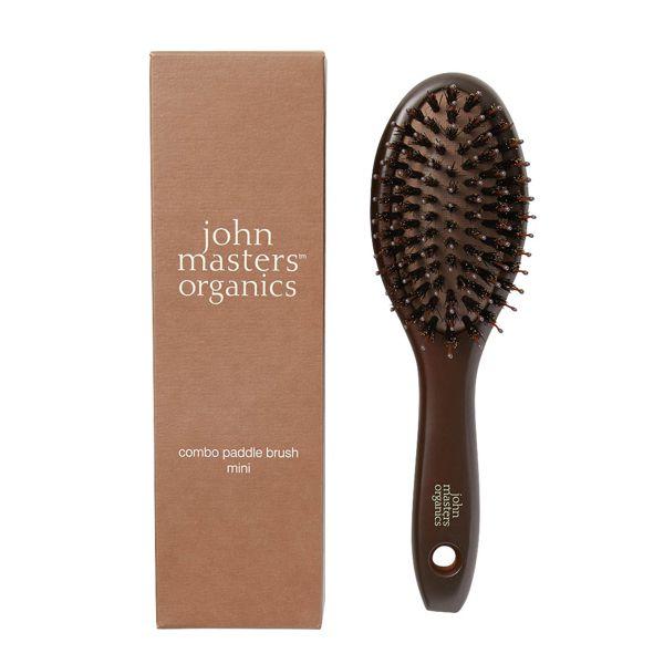 john masters organics(ジョンマスターオーガニック)『コンボパドルブラシ ミニ』をレポ!に関する画像4