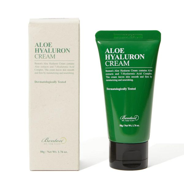 肌をうるおいで満たしてくれるアロエヒアルロンクリームをレポ!に関する画像1