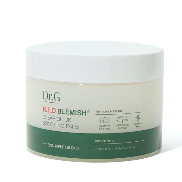 デリケートなな肌にうるおいを与えてくれるDr.Gの『レッド ブレミッシュ クリア クリック スージング パッド』をご紹介 に関する画像7