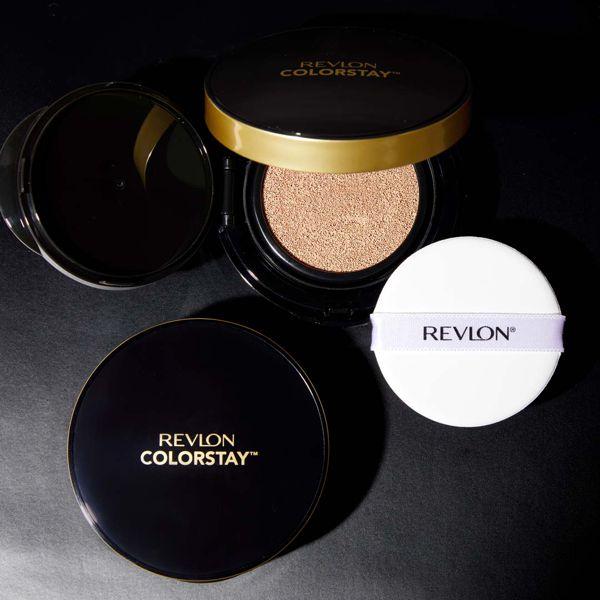 REVLON(レブロン)『カラーステイ クッション ロングウェア ファンデーション 004 バフ』の使用感をレポに関する画像1