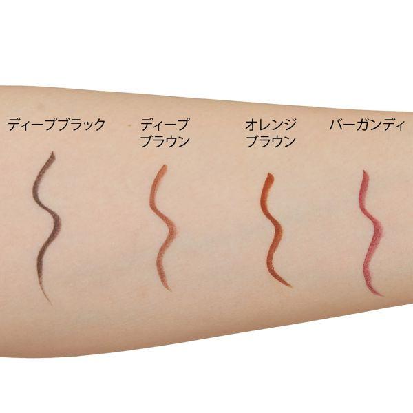 鮮やかな美発色のkingdom(キングダム)『リキッドアイライナーWP オレンジブラウン』をご紹介に関する画像9