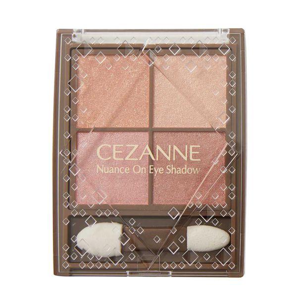 CEZANNE(セザンヌ)『ニュアンスオンアイシャドウ 01 ウォームコーラル』の使用感をレポに関する画像4