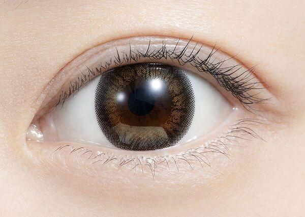 好印象を与える愛され瞳を演出! feliamo(フェリアモ)『フェリアモ ワンデー チュールブラウン』をレポに関する画像10