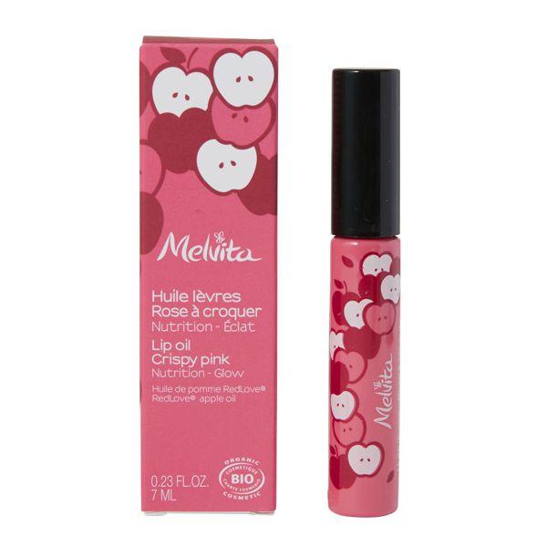 Melvita(メルヴィータ)『リップオイル ピンク』の使用感をレポに関する画像5