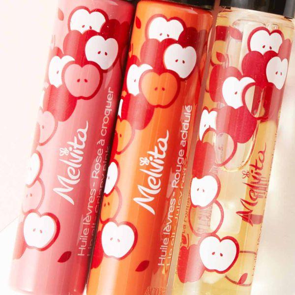 Melvita(メルヴィータ)『リップオイル ピンク』の使用感をレポに関する画像15