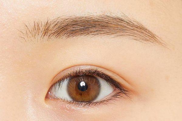 染めたようなふんわり眉毛に! ちふれ『アイブロー マスカラ BR10 ライト ブラウン』をレポに関する画像9