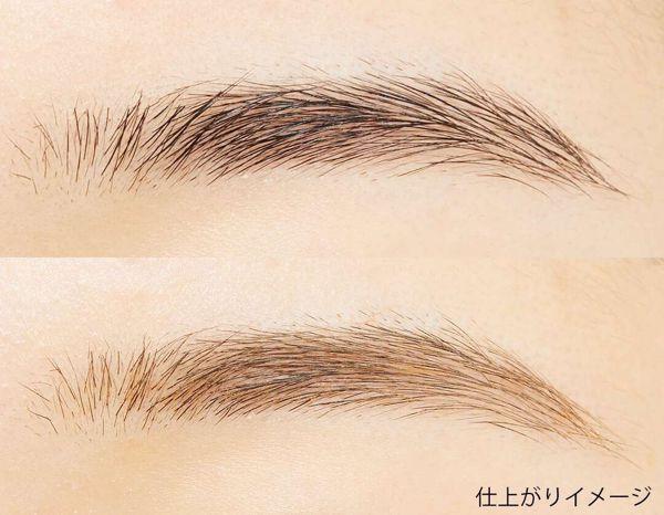 染めたようなふんわり眉毛に! ちふれ『アイブロー マスカラ BR10 ライト ブラウン』をレポに関する画像10