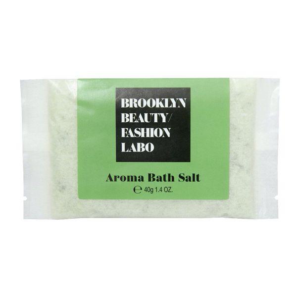 Brooklyn Beauty Fashion Labo(ブルックリンビューティーファッションラボ)『アロマバスソルト グリーン』の使用感をレポ!に関する画像4
